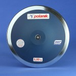 Tävlingsdiskus plast 2 kg CPD11-2