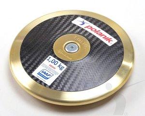 Polanik Carbondiskus med centrumplatta 1 kg