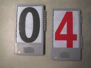 Sifferkassett röd