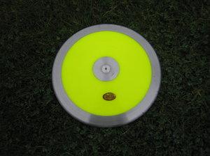 Träningsdiskus plast 1 kg